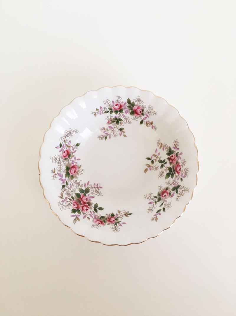 ciotoline da dessert lavender rose royal albert