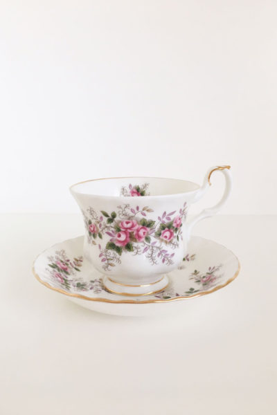 tazza da te lavender rose royal albert