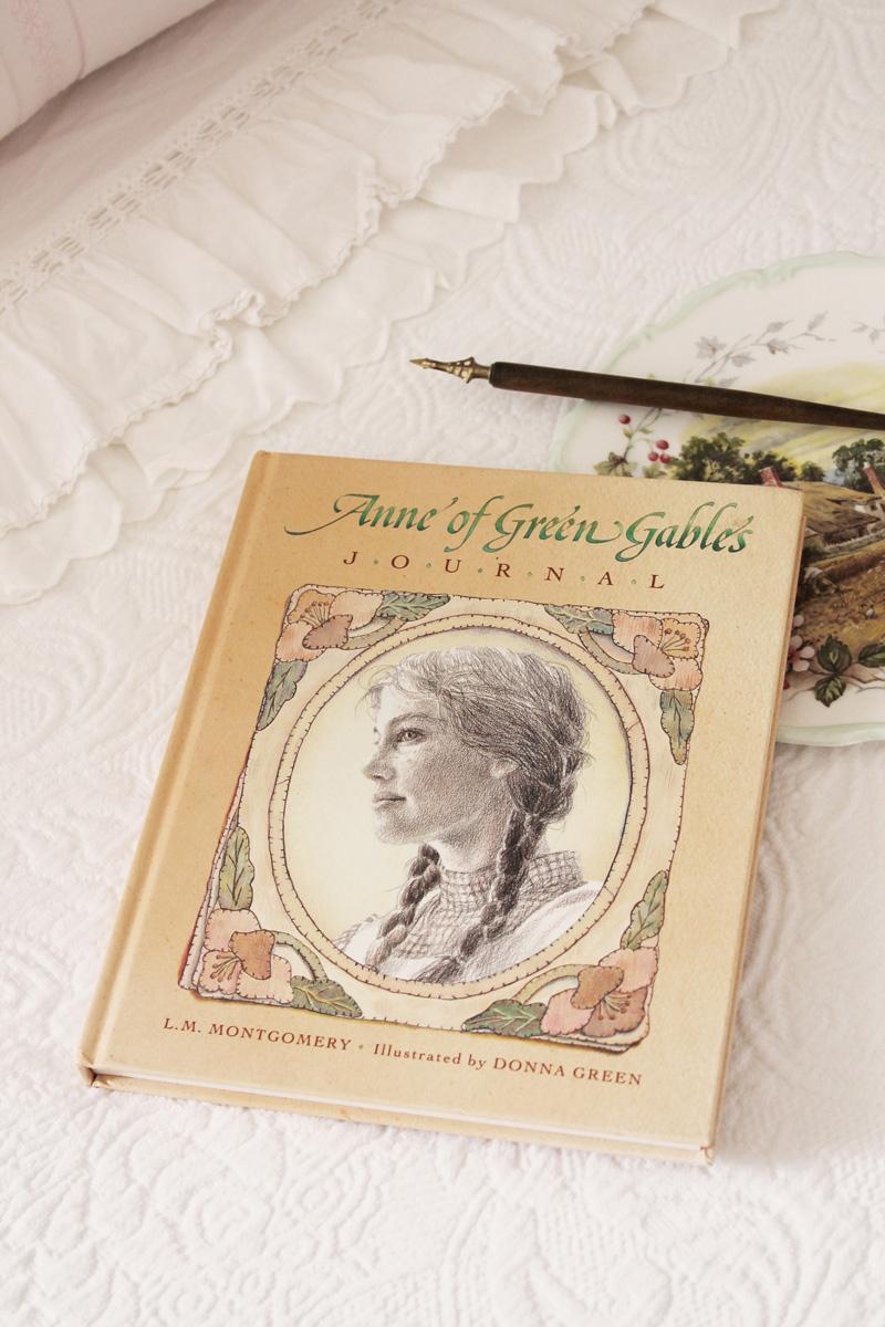 anne of green gables journal libro anna dai capelli rossi
