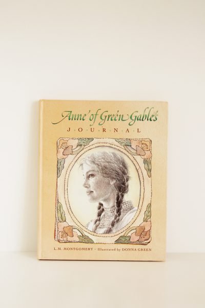 anne of green gables journal libro anna dai capelli rossi
