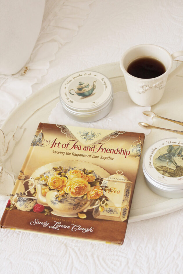 the art of tea and friendship libro vintage