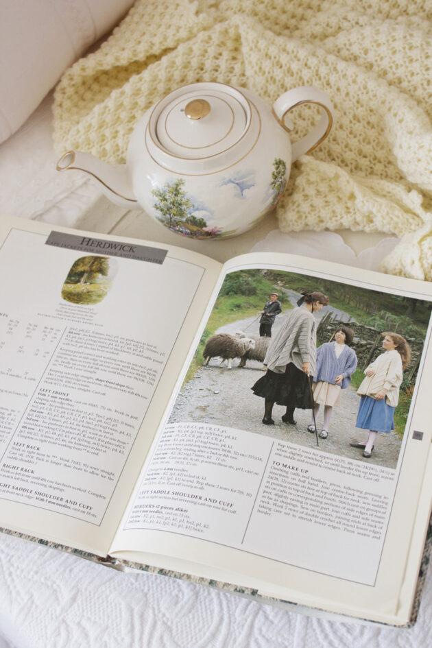 beatrix potter knitting book vintage