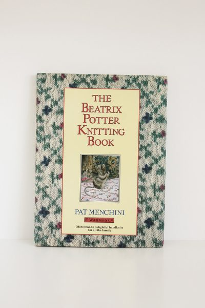 beatrix potter knitting book vintage