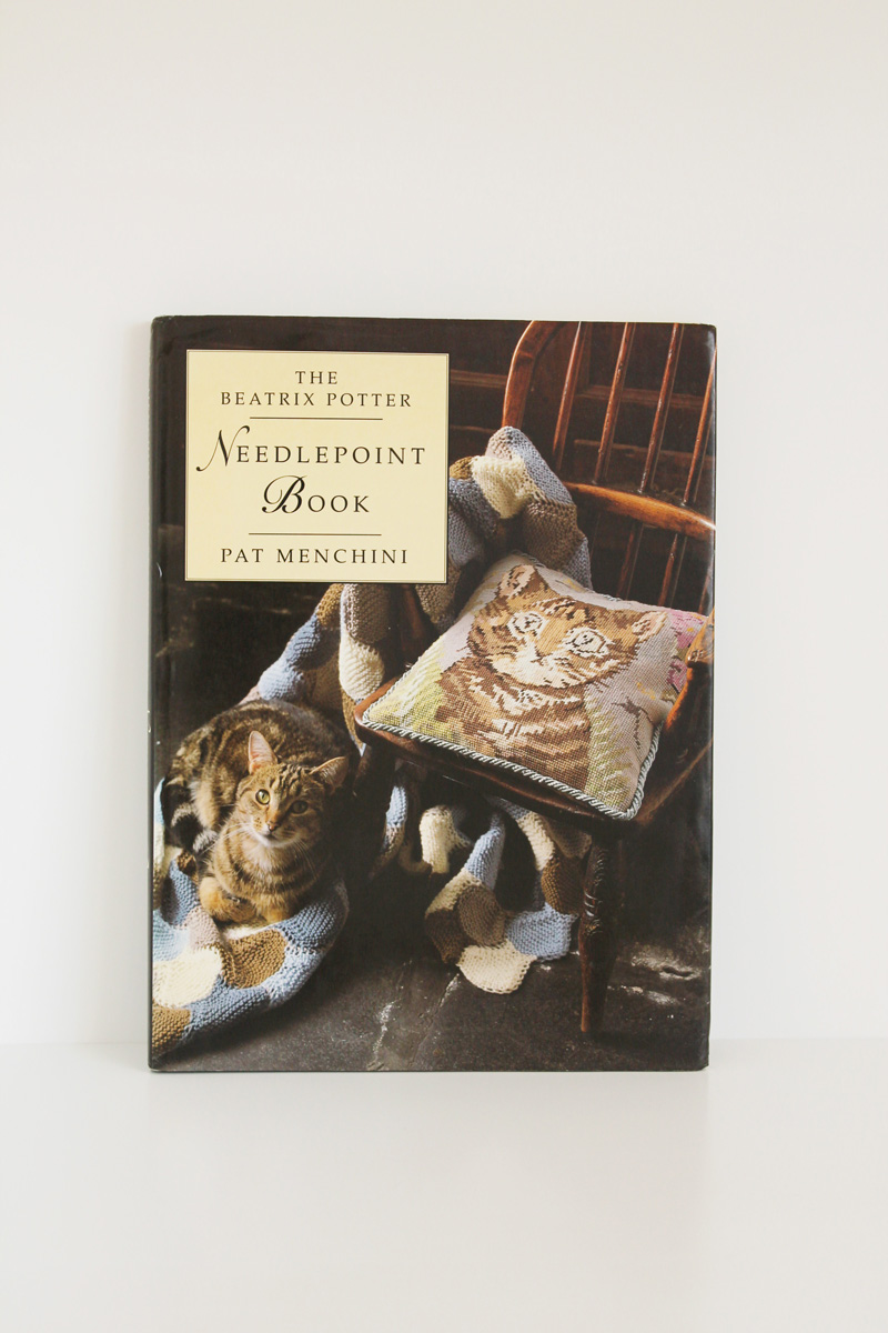 beatrix potter needlepoint book