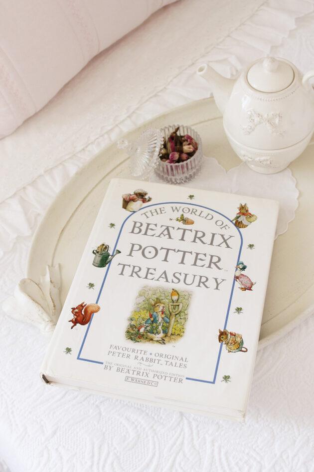 the world of beatrix potter treasury peter rabbit vintage book