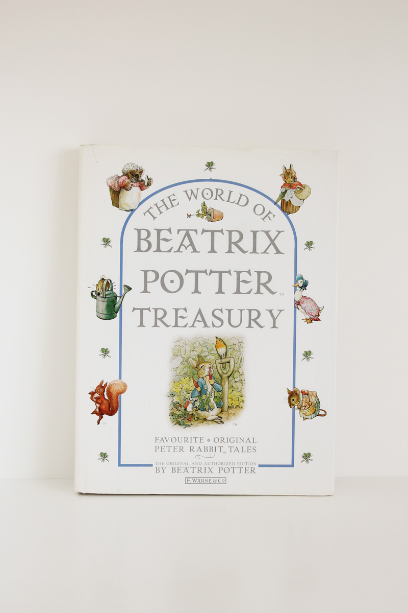the world of beatrix potter treasury peter rabbit vintage book