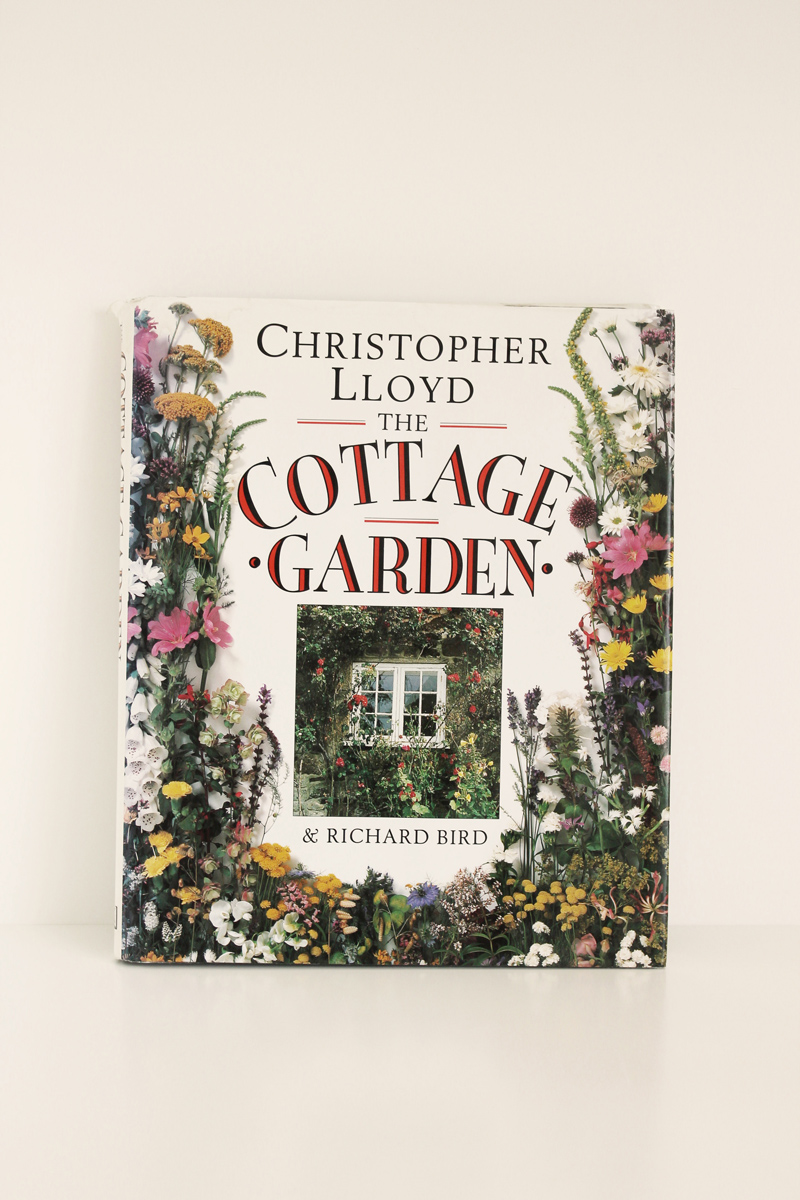 the cottage garden vintage book