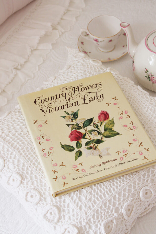 the country flowers of a victorian lady vintage book