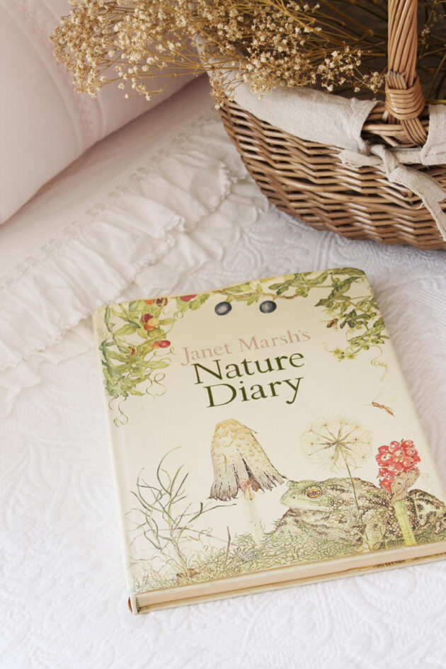 janet marsh nature diary vintage book