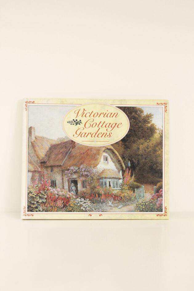 victorian cottage garden book vintage