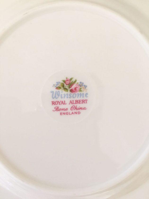 servizio da dessert winsome royal albert tea time english