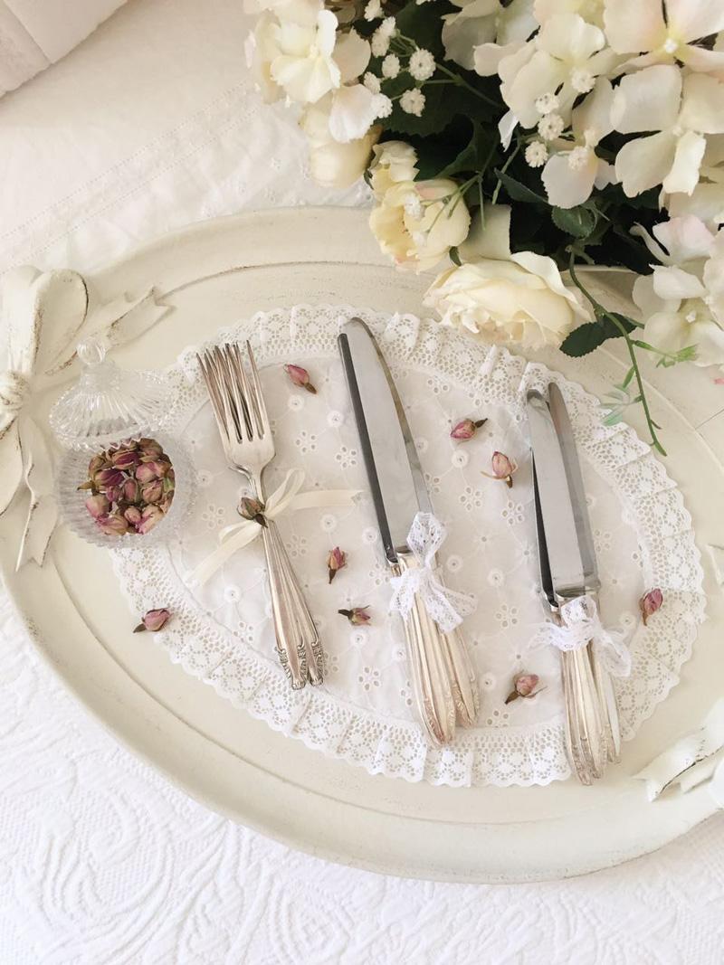 Servizio completo di posate da tavola priestley moore - Poggia posate da tavola ...