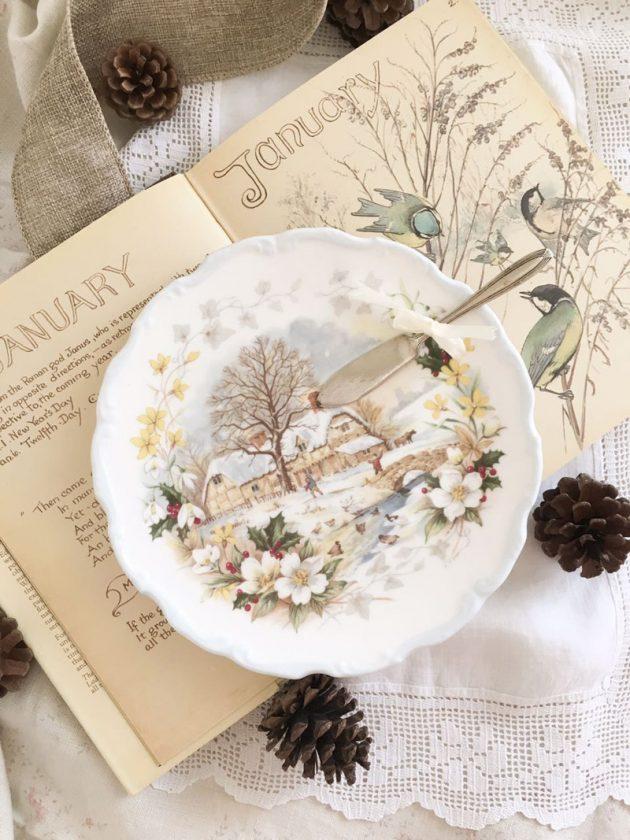 set quattro stagioni royal albert inverno