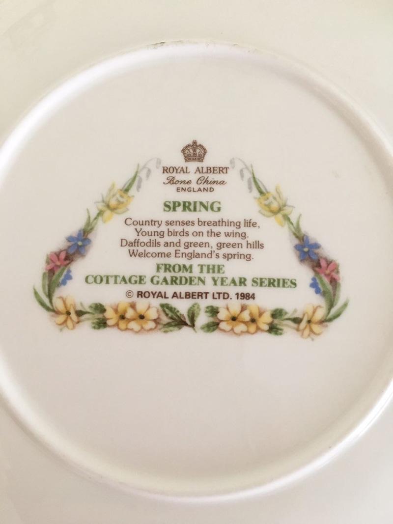 set quattro stagioni royal albert primavera