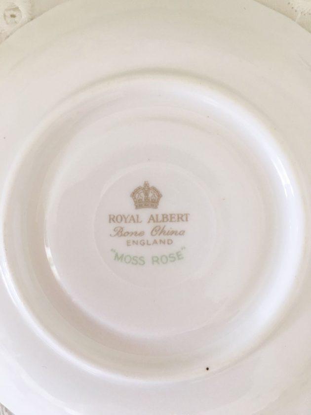 tazzina da caffe moss rose royal albert