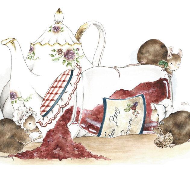 tè per tre quieta radura