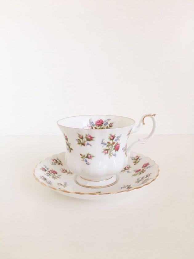 tazze tè royal albert winsome vintage rose teacup