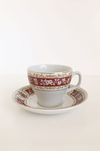 tazza christmas rose
